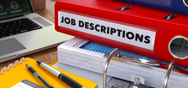 3 Steps to writing a Job Description (and a sample JD)