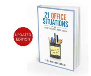 Photo of updated edition of 21 Office Situations book
